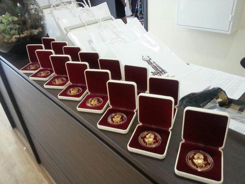"""Златен медал \""""Кольо Фичето\"""" бе връчен на изявени бивши възпитаници."""