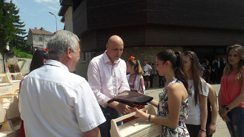 Участие в национална среща на професионалните гимназии по строителство и архитектура в  град Дряново