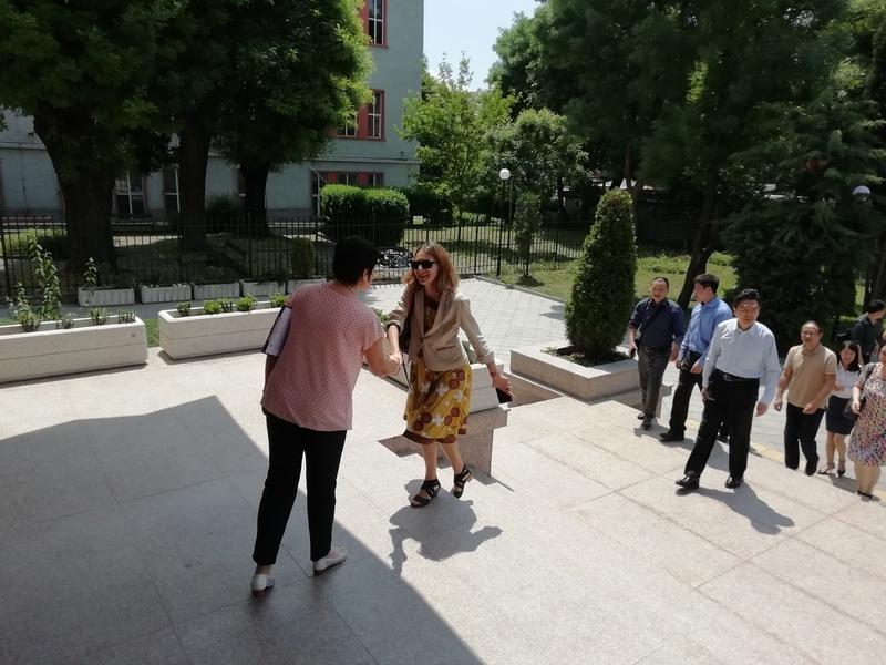 Делегация от Китай посети ПГСАГ