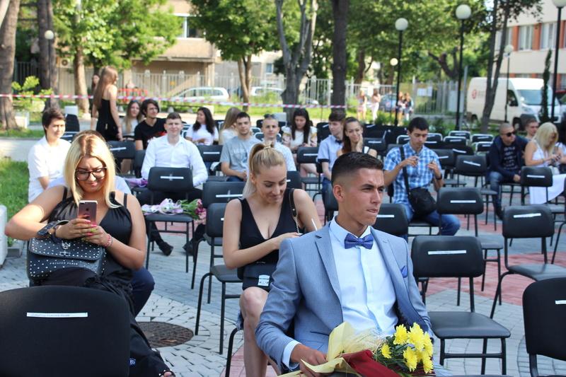 Връчване на дипломи на випуск 2020