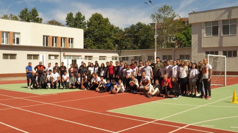 Европейски ден на спорта в училище 24.09.2021г